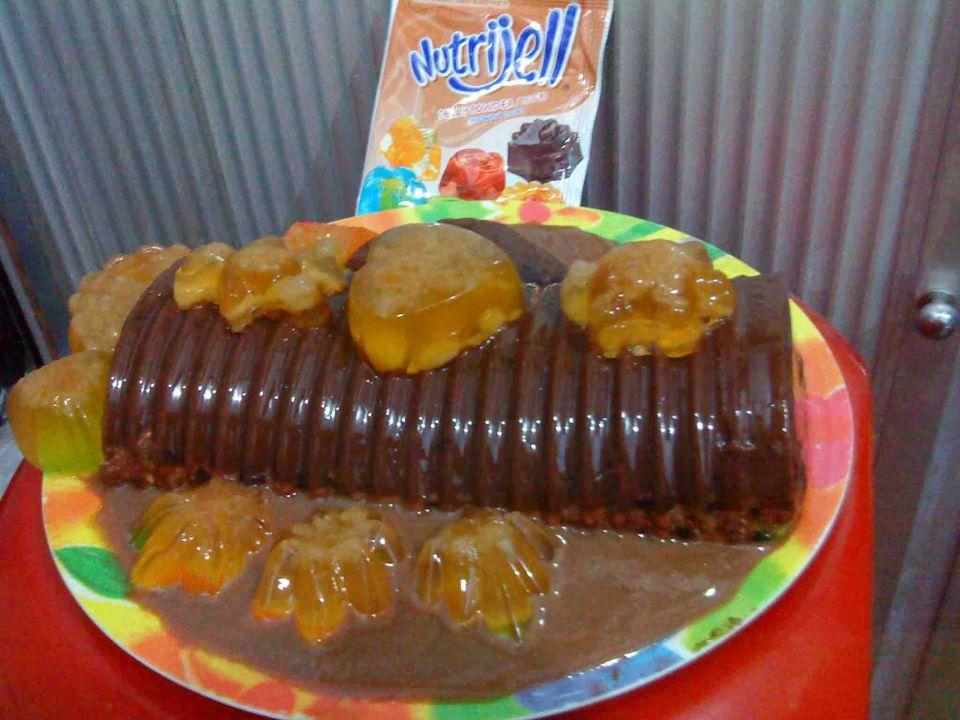 Resep Nutrijell Coklat Oreo