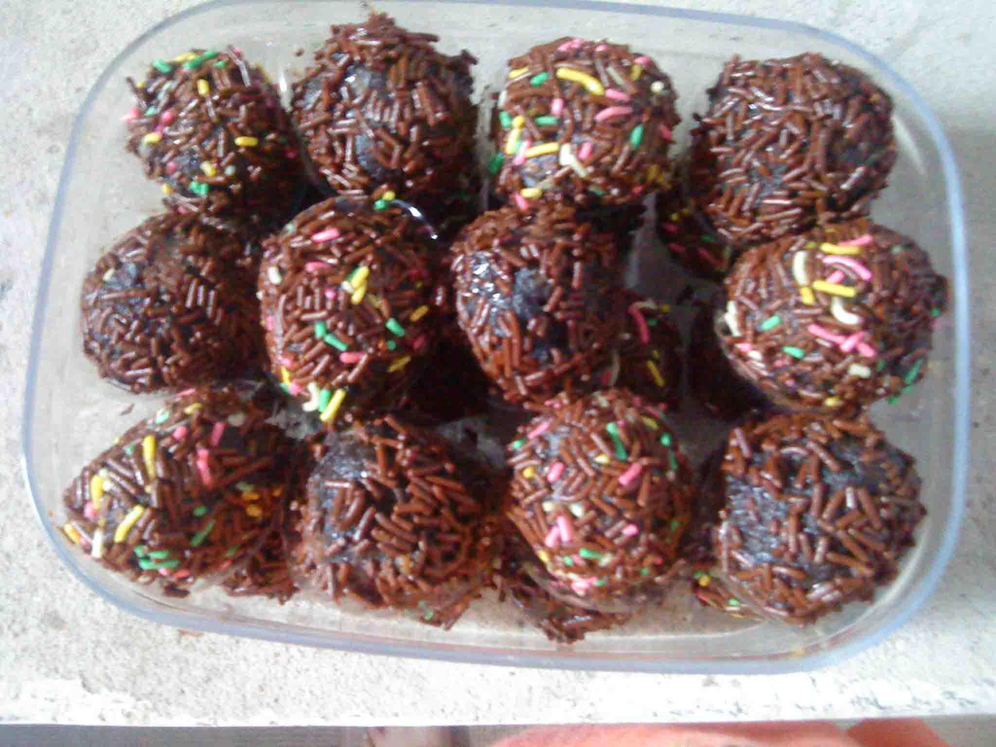 Chocolate Truffle Oreo | Resep Chocolate Truffle | Bola-bola Coklat ...