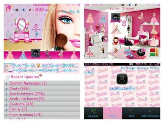 Cute Blackberry Themes